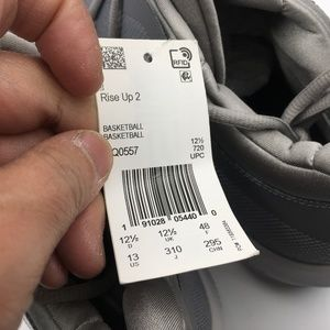 separation shoes 83ed1 5488f Adidas Shoes - Adidas Gray Rise Up Sneakers G5211977